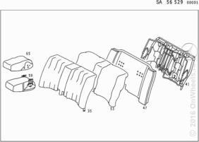 REAR SEAT,MB-TEX