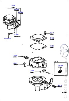 Fuel pump & pipe